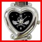 Lacrosse Sticks Sports Game Heart Italian Charm Wrist Watch 156