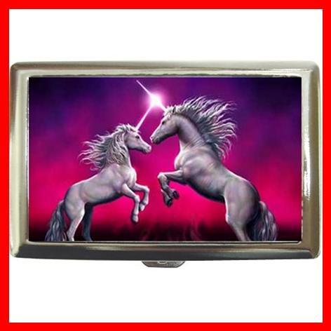 Unicorn Dance Myth Fantasy Fun Cigarette Money Case 033