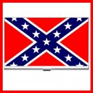 Rebel Confederate Flag Business Credit Card Case 15