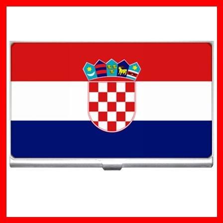 Croatia Flag Nation Patriotic Hobby Business Credit Card Case 21