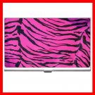 Pink Tiger Skin Print Animal Hobby Business Credit Card Case 22