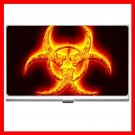 Biohazard Bio Hazard Golden Business Credit Card Case 28