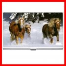 Horses Running Animals Business Credit Card Case 30
