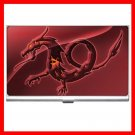 Red Dragon Myth Hobby Business Credit Card Case 52