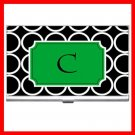 "Name Initials Letter ""C"" Hobby Business Credit Card Case 72"