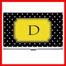 "Name Initials Letter ""D"" Hobby Business Credit Card Case 73"