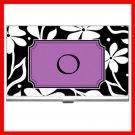 "Name Initials Letter ""O"" Hobby Business Credit Card Case 83"