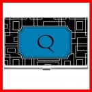 "Name Initials Letter ""Q"" Hobby Business Credit Card Case 85"