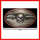Avenged Sevenfold Skull Hobby Business Credit Card Case 93