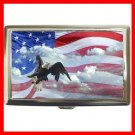 AMERICAN FLAG EAGLE Hobby Cigarette Money Case 041