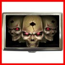 Cool Skull Skulls Hobby Cigarette Money Case 042