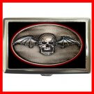 Avenged Sevenfold Skull Hobby Cigarette Money Case 049