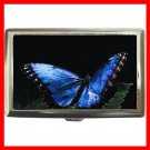 Blue Butterfly Hobby Cigarette Money Case 052