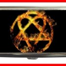 Golden Fire Heartagram Hobby Cigarette Money Case 055