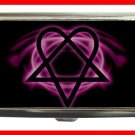 Pink Heartagram Hobby Cigarette Money Case 056