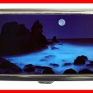 California Coast  Night Moon Hobby Cigarette Money Case 063
