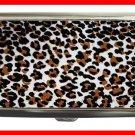Leopard Rosettes Skin Print Hobby Cigarette Money Case 066