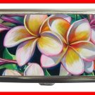 Pink Frangipani Flower Hobby Cigarette Money Case 069