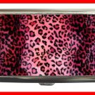 PINK LEOPARD Skin Print Hobby Cigarette Money Case 070