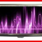 Wave Purple Light Digital Fun Hobby Cigarette Money Case 073
