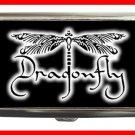 DRAGONFLY Black Fly Hobby Cigarette Money Case 085