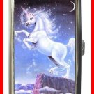 Mystic Unicorn Moon Snow Hobby Cigarette Money Case 091