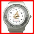 Roller Hockey Trophy Sports Stainless Steel Wrist Watch Unisex 133