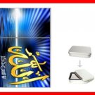ALLAH GOD ISLAMIC Flip Top Lighter + Box New Gift 003