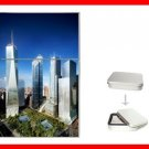 New World Trade Center Building Flip Top Lighter + Box New Gift 007