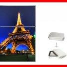 EIFFEL TOWER Paris Night Flip Top Lighter + Box New Gift 009