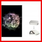 Dragons Tiger Yin Yang Myth Hobby Flip Top Lighter + Box New Gift 017
