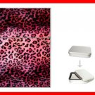 PINK LEOPARD Skin Print Hobby Flip Top Lighter + Box New Gift 019