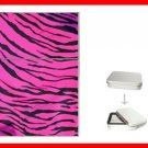 Pink Tiger Skin Print Hobby Flip Top Lighter + Box New Gift 024