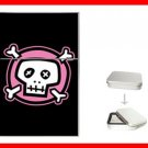 Pink Skull Myth Hobby Flip Top Lighter + Box New Gift 033