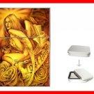 Lost Angel Myth Hobby Flip Top Lighter + Box New Gift 034