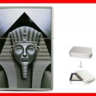 Sphinx Pyramid  Egypt Myth Hobby Flip Top Lighter + Box New Gift 039