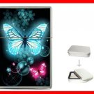 Blue Pink Butterflies Fly Hobby Flip Top Lighter + Box New Gift 040