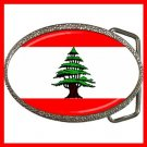 LEBANESE FLAG Hobby Fun Belt Buckle 007