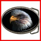 Eagle Eye American Flag Patriotic Belt Buckle 014