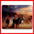 Horses Running Animals Mouse Pad MousePad Mat 253