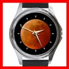 LUNAR MOON ECLIPSE Hobby Round Metal Wrist Watch Unisex 170