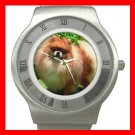 Pomeranian Puppy Dog Pet Stainless Steel Wrist Watch Unisex 161