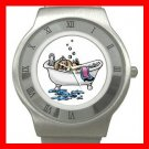 PET GROOMING CAT DOG Stainless Steel Wrist Watch Unisex 165
