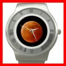 LUNAR MOON ECLIPSE SPACE Stainless Steel Wrist Watch Unisex 169