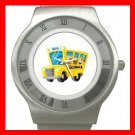 BACK SCHOOL BUS DRIVER Stainless Steel Wrist Watch Unisex 170