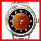 LUNAR MOON ECLIPSE Round Italian Charm Wrist Watch 584