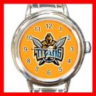Gold Coast Titans Football Sports Round Italian Charm Wrist Watch 599