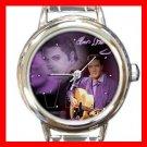 King Of Rock Music Round Italian Charm Wrist Watch 608