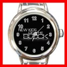 New Kids On The Block Band Italian Charm Wrist Watch 618