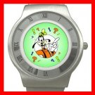 Cute Goofy Stainless Steel Wrist Watch Unisex 184